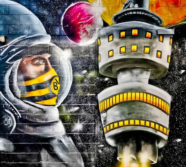 Borussia Dortmund Street Art