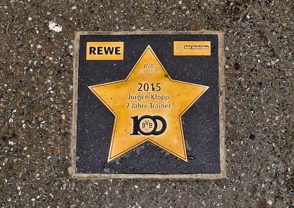Walk of Stars - Borussia Dortmund