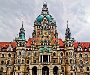 New Town Hall Facade