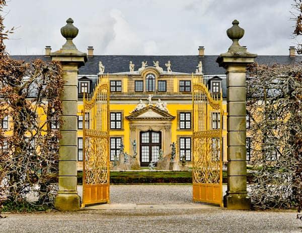 Golden Gates Instagram Spot in Hannover Germany