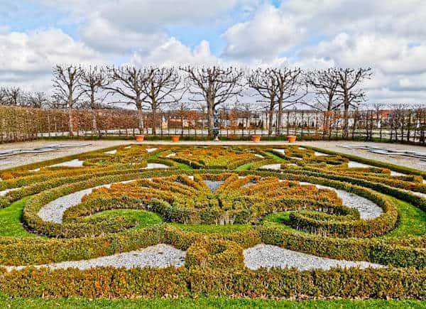 Patterned Bushes at Herrenhausen Gardens