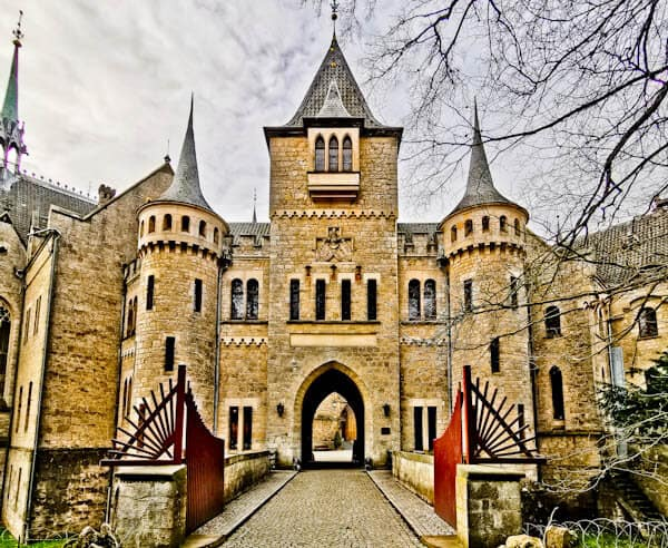Marienburg Castle Gates