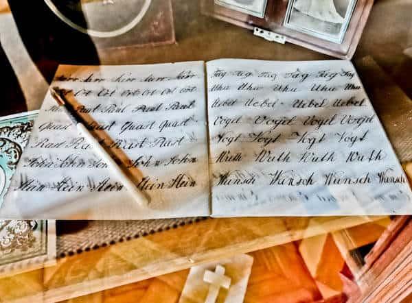 Original Queen Marie Note