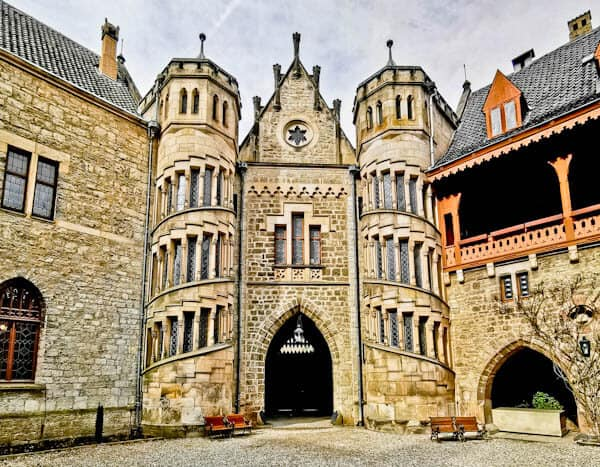 Marienburg Castle Courtyard