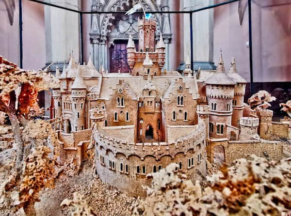 3D Cork Model of Marienburg Castle
