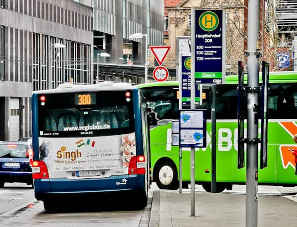 Hannover to Marienburg Castle Bus