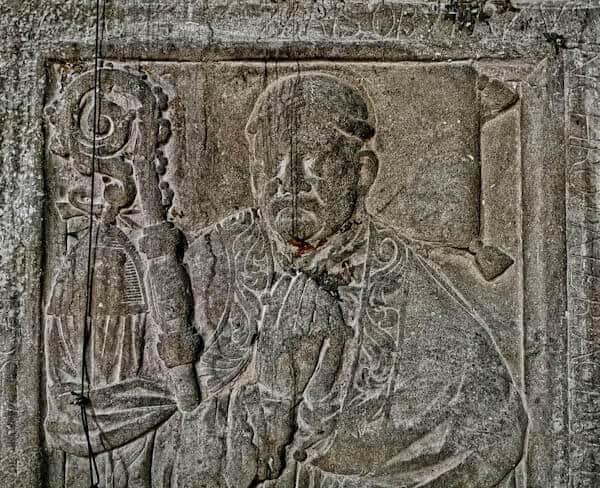 Ancient Inscriptions in Saint Matthias Abbey