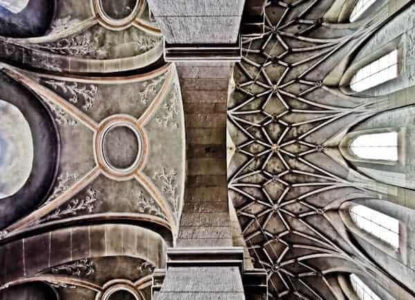 Ceiling Art in Saint Matthias Abbey