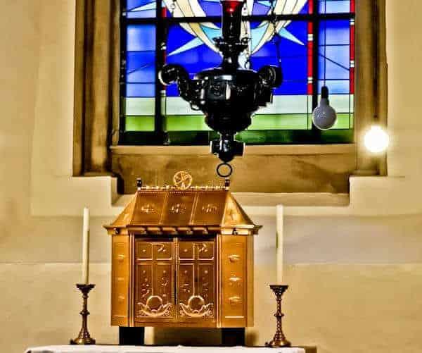 Inside Trier Abbey