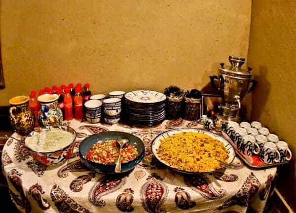 Pazirik Ecolodge - Buffet Dinner