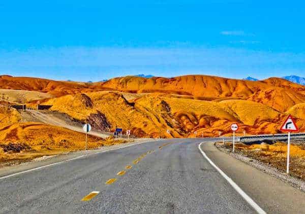Iranian Desert Road Trip