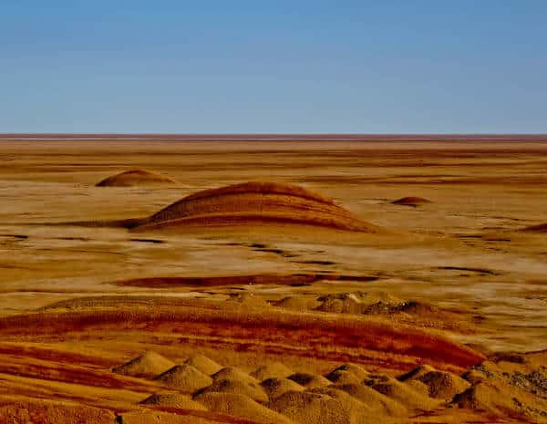 Mars Like Landscape in the Iranian Desert