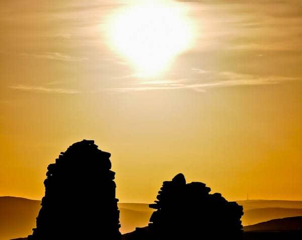 Sunrise in Skipton Moor