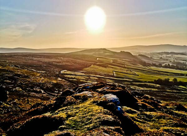 Embsay Crag at Sunrise
