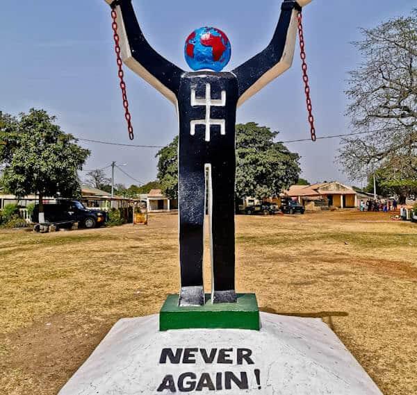 Kunta Kinteh Statue - The Gambia