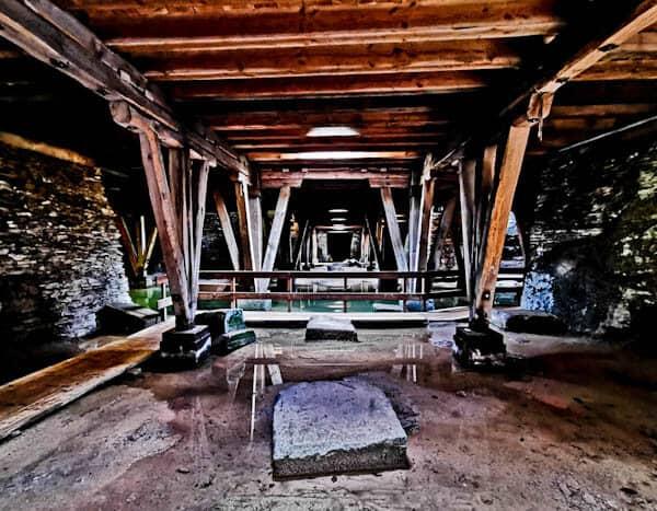 Underground Cellar at Trier Amphitheater