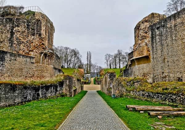 Trier Amphitheater - Entrance Gates