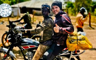 How to Travel from Bissau to Conakry by Motorbike
