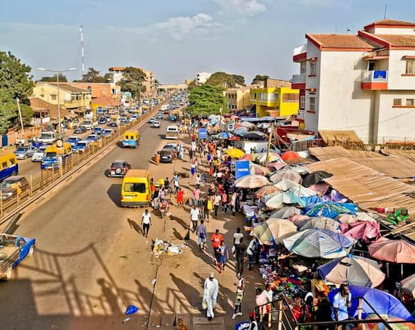 Bissau Main Market