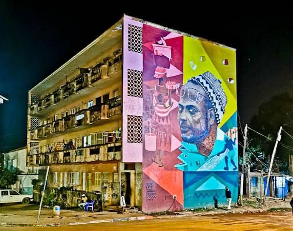 Street art in Bissau