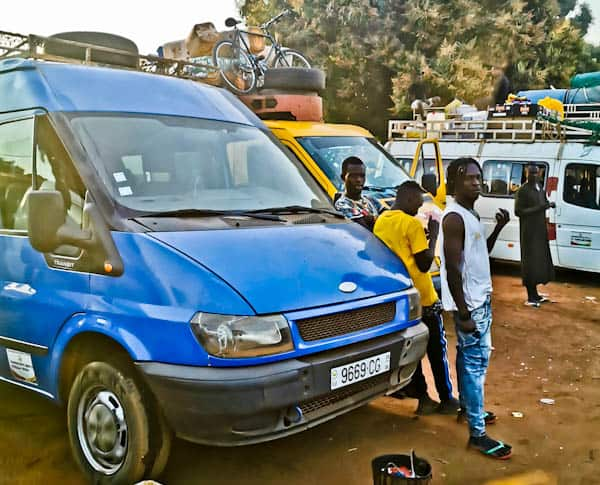 Bissau to Conakry via Boke
