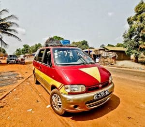 Share Taxi / Sept Plus from Boke to Conakry