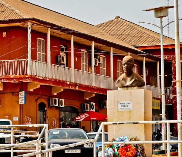 Amilcar Lopes Cabral Statue in Bissau