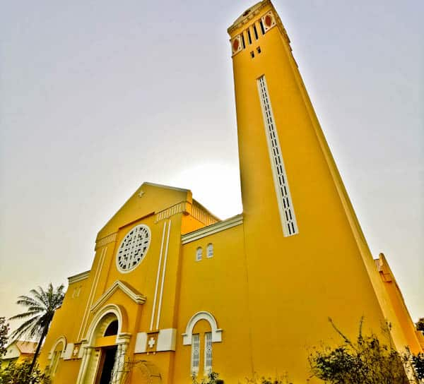 St Mary's Cathedral Conakry Guinea