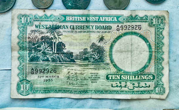British West Africa Shillings