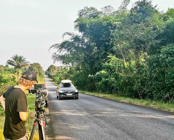 Freetown to Monrovia by land