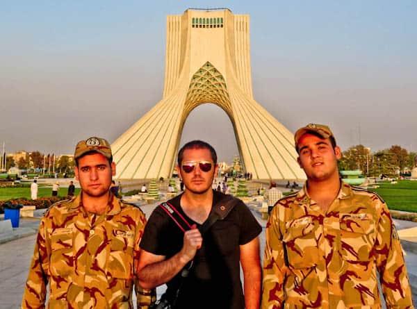 Travel Blogger in Tehran