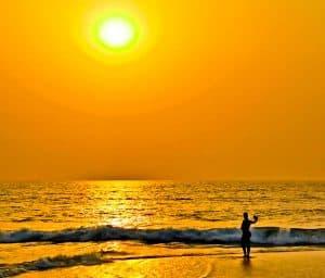 Sunsets in Sierra Leone