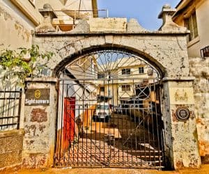 King's Yard Gate, Freetown Sierra Leone