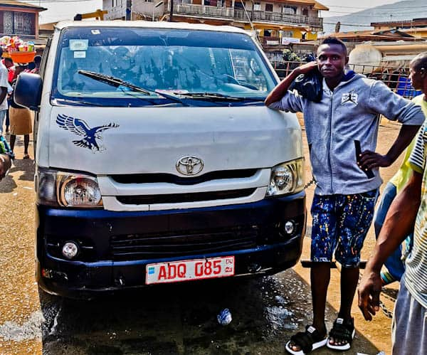 Share Taxi from Freetown to Bo