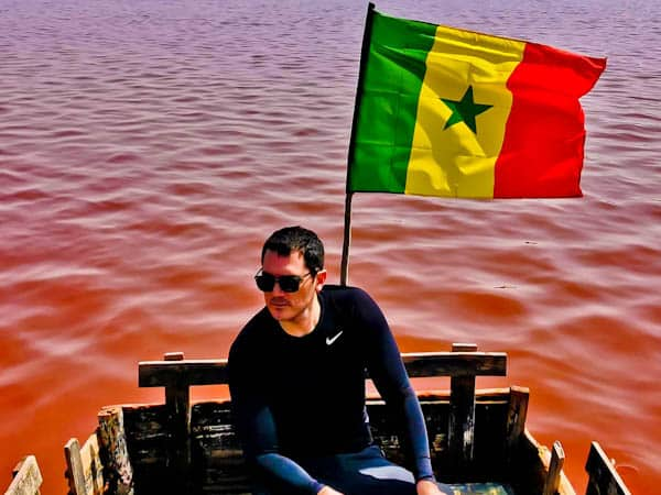 Rose Lake Senegal