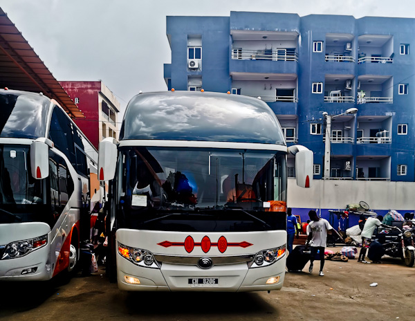 Yamoussoukro to Abidjan Bus