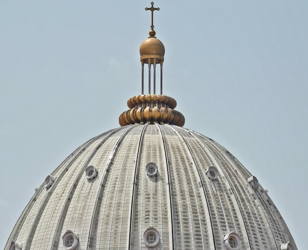 Domed Roof of the Basilica of Yamoussoukro