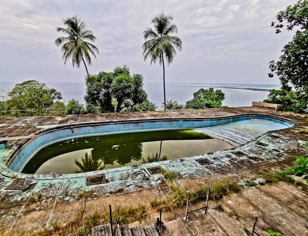 Swimming Pool at the Ducor Hotel in Monrovia Liberia