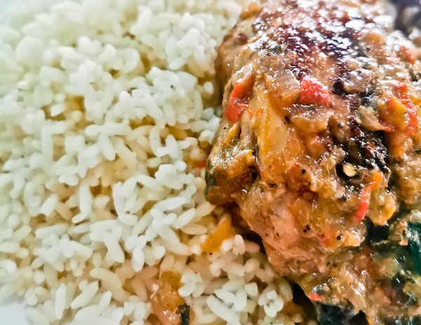 Chicken and Rice in Monrovia