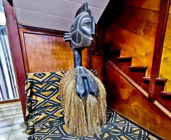 African Masks in Monrovia Liberia