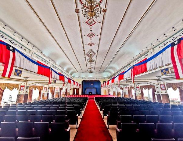 Centennial Pavilion Inside