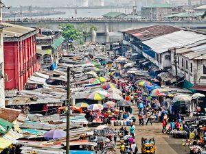 Waterside Market - Monrovia Liberia