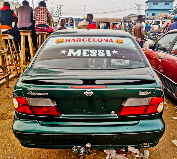 Share Taxi from Monrovia to Ganta