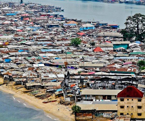 West Point Slums Monrovia
