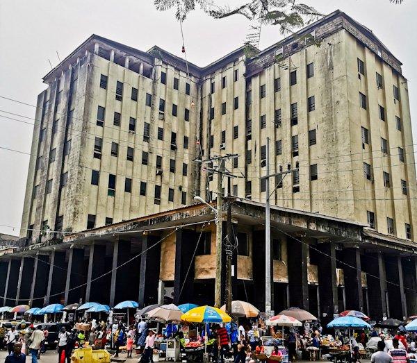 Abandoned Buildings in Monrovia Liberia