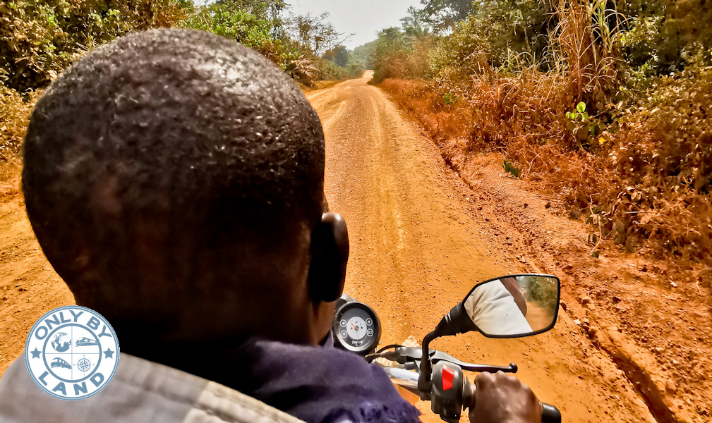 Monrovia to Man Ivory Coast by Land via Danane