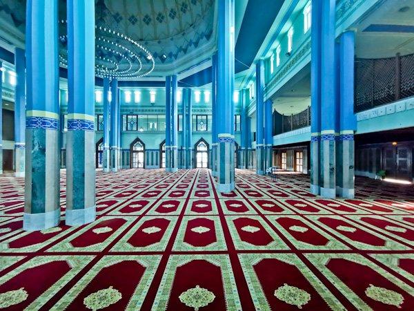 Plateau Mosque Interior - Abidjan