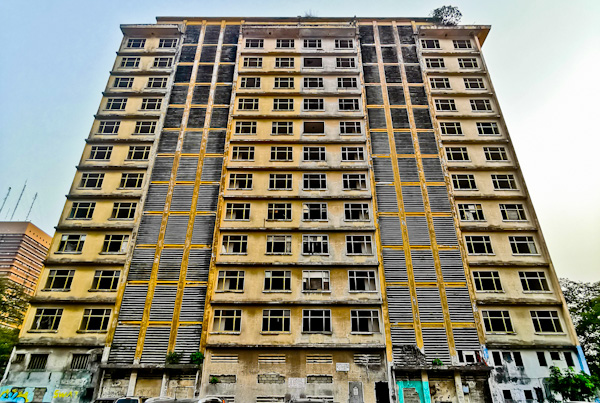 Abandoned Buildings in Abidjan Ivory Coast