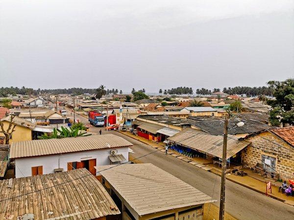 Panoramic Grand Bassam viewpoint