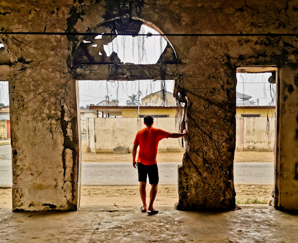Exploring Abandoned Buildings in Grand Bassam